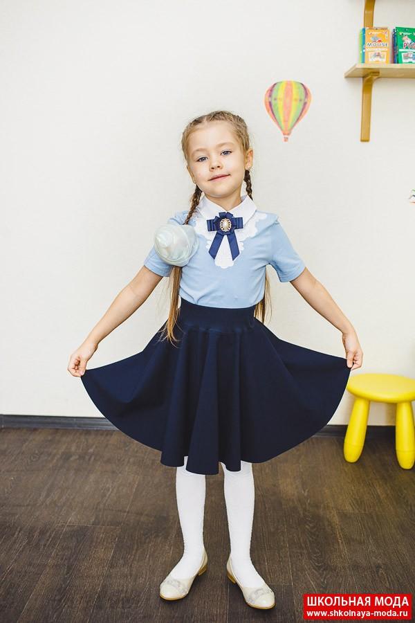 Школьные жилетки и юбки модные